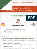 Sesión 1_Propiedades Físicas de Los Componentes de La Albañilería