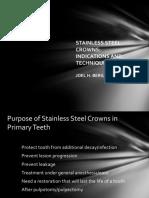 Berg Stainless Steel Crown