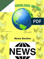Basic English News - News Section