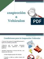 Inspección a Vehículos