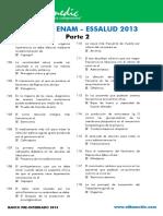 Bancazo ENAM - ESSALUD 2013 Parte 2 - Villamedic
