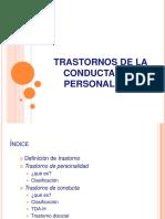 Cuadros Trastornos de Conducta y Personalidad