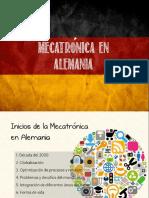 Mecatrónica en Alemania