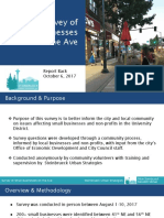 U District Survey City Council Presentation