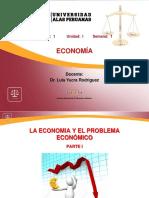 LA ECONOMIA Y EL PROBLEMA ECONÓMICO