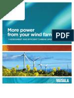 Vaisala Wind Energy Brochure