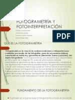 FOTOGRAMETRÍA Y FOTOINTERPRETACIÓN.pptx