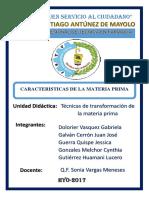 Informe c. Calidad