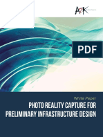 Photo Reality Capture for Preliminary Infrastructure Design Web