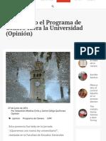 Diálogo UPR | Procurando el Programa de Género fuera la Universidad (Opinión)