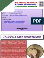 La Agroexportacion
