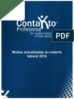 Multas Laborales 2016 Br