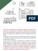 Cortes Arquitectonicos