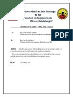 Informe 3 de Determinacion de Angulo,Densidad,%Humedad y %Ev