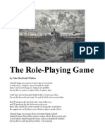 The Role-Playing Game