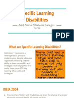 4 specific learning disabilities