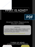 5 what is adhd