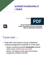 6. Materi Audit Penggunaan Antibiotik Kuantitatif II KPRA Dayu Final 30092017 Edit