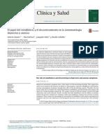 El Papel Del Mindfulness y El Descentramiento en La Sintomatología