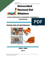 Tecnología de Materiales II 2017 I