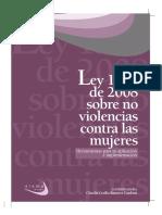 Ley 1257 de 2008 Sobre No Violencias Contra Las Mujeres Herramientas Para Su Aplicación e Implementación