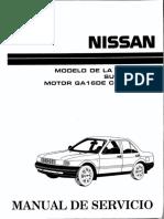 Manual de Servicio Nissan B13 (Motor-GA16DE con ECCS).-.pdf