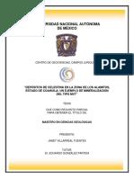 """""""DEPÓSITOS DE CELESTINA EN LA ZONA DE LOS ALAMITOS, ESTADO DE COAHUILA UN EJEMPLO DE MINERALIZACIÓN DEL TIPO MVT"""" .pdf"""