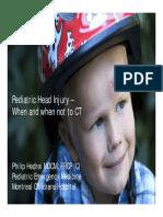Caep Peds Head Injuries