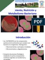 3 Nutrición Bacteriana ESIQ 2016
