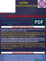Bioseguridad en Operatoria Dental