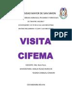 Visita Cifema
