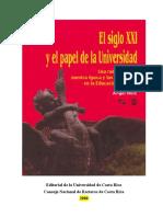 El Siglo XXI y El Papel de La Universidad