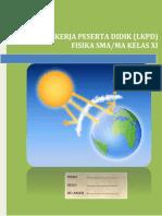 LKPD Simulasi Efek Rumah Kaca Secara Kuantitatif