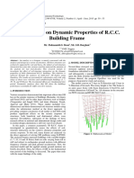 Effects of SSI on Dynamic Properties of R.C.C. Building Frame _2015
