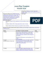 lesson plan for modified task 4