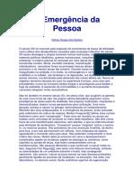 A Emergencia da Pessoa (Dalmo Duque dos Santos).pdf