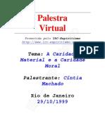 A Caridade Material e a Caridade Moral (Cintia Machado).pdf