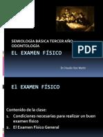 Exámen Físico Dr. San Martín