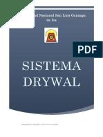 Sistema Drywal