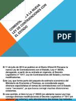 COMENTARIOS A LA NUEVA LEY DE CONTRATACIONES CON.pptx