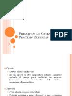 Principios de Ortesis y Prótesis Externas