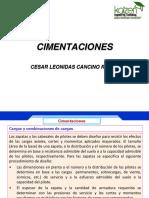 2.- Proceso Diseño Cimentaciones
