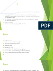 Fraud Auditing and Forensic Accounting OVERVIEW