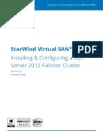 StarWind SQL Cluster