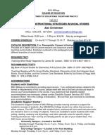 Syllabus EDCI 512 - F17