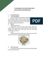 Aplikasi Dan Manfaat Batuan Piroklastik