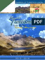 Diagnóstico del Plan de Desarrollo Turístico Local- San Rafael - Ambo - Huánuco