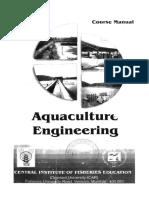 Aquaculture Engineering CIFE-238