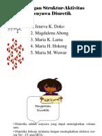 Hubungan Struktur-Aktivitas Senyawa Diuretik
