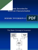 2 Seismic Inversin Consept